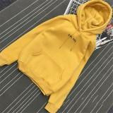 Women Fashion Printed Loose Long Sleeve Hooded Hoodie Pullover Sweatshirt Coat