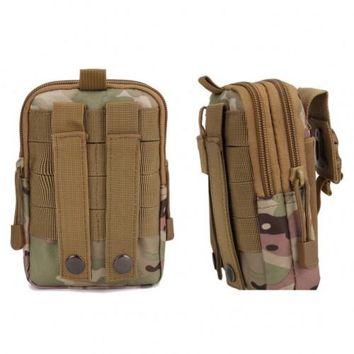 Multifunctiona Pouch Belt Waist Pack Bag Waist Pocket Outdoor Sports Running Bags Men's Camouflage Hiking Pockets