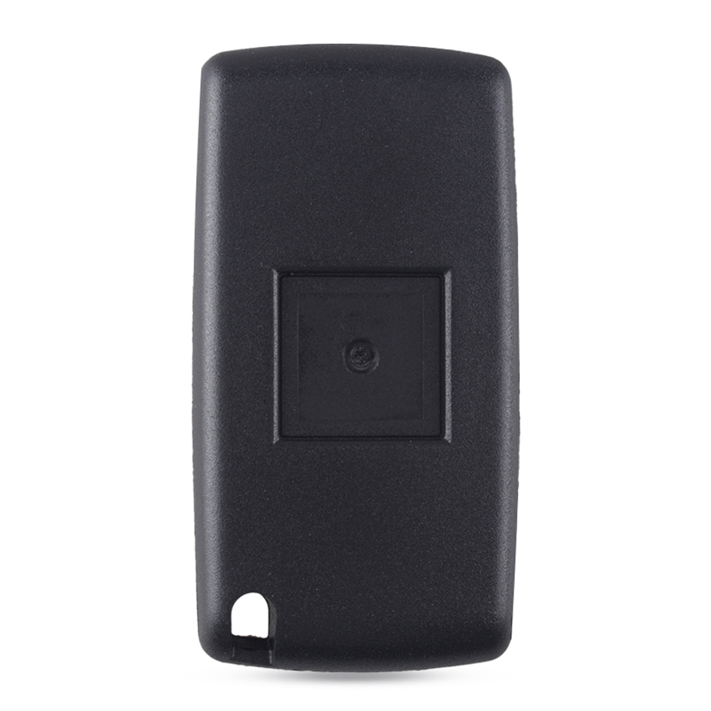 2 Buttons Remote Flip Car Key Fob Replace Shell Case Fit for Peugeot 207 307
