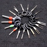 18Pcs Car Wire Terminal Removal Tool Electrical Wiring Crimp Connector Pin Kit