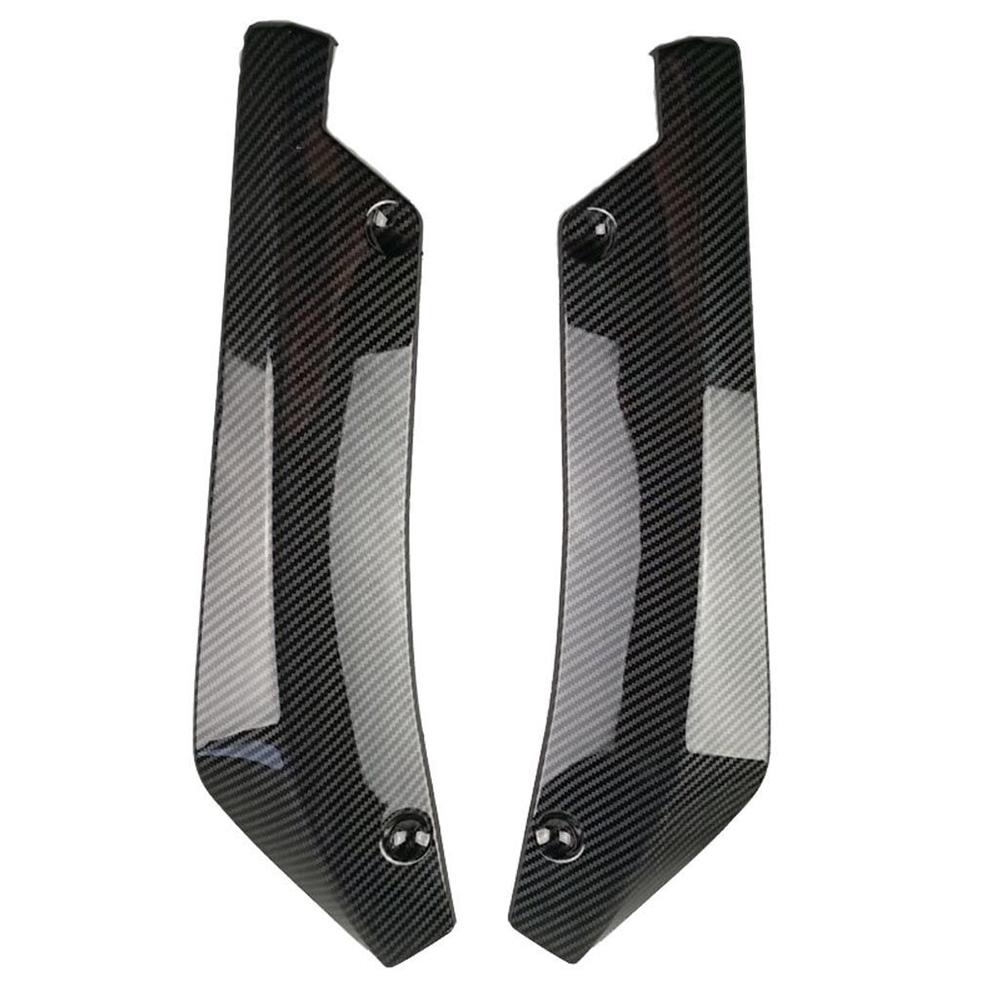 2x Universal Car Rear Bumper Lip Diffuser Splitter Canard Protector 3 Colors