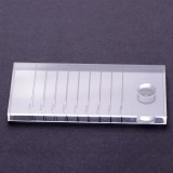 2 in 1 Acrylic False Lashes Adhesive Glue Pallet Holder for Eyelash Extensions Transparent Eyelash Extension Supplies Tool