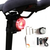 Colorful Taillight Waterproof Bike Cycling Rear Light USB Rechargeable Bicycle Warning Lamp