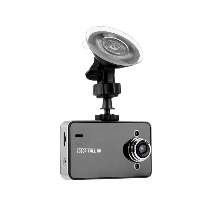 Portable HD 720P Car Camcorder DVR Driving Recorder Digital Video Camera Voice Recorder, 2.4 inch TFT Screen Display, Support Motion Detection & File Locking Function, 32GB TF Card
