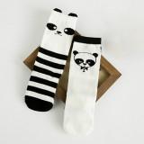 Toddlers Children Kids Girls Cute Panda Soft Cotton Socks Hosiery For 0-6 Years
