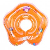 Safe Swimming Ring for Baby Bath Neck Float Mother-child Play Swim Ring