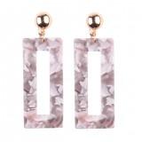 Special Design Multicolored Long Earrings Bohemian Resin Dangle Drop Earring for Women Fashion Statement Jewelry