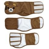 Dog Diaper Male Washalbe Elephant Bear Dog Wraps Doggy Pants Pet Underwear