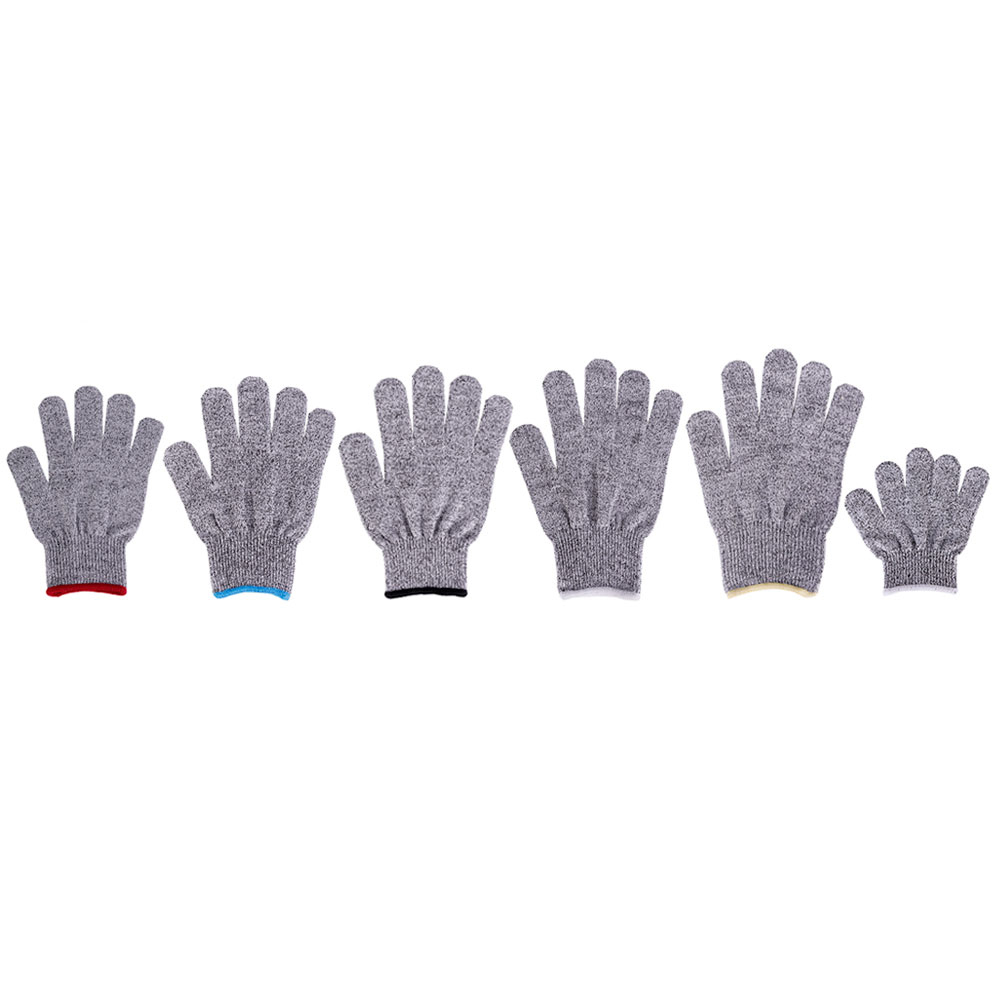 Cut Resistant Gloves Level 5, Grade EN388 Certified Safety Gloves for Hands Protection, Cooking, Kitchen, Cutting, Working, Welding, Slicing and Driving