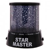 LED Starry Night Sky Projector Lamp Star Light Master Kids Gift