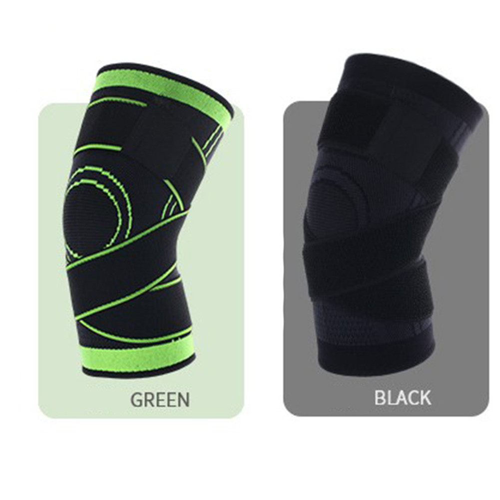Elastic Knee Brace Support Sports Gym Sleeve Guard Protector Patella Knee Pad
