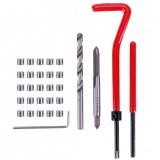30PCS M5/M6/M8 Metric Thread Repair Insert Coil Helicoil For for Automotive Repair Kit