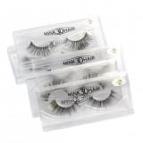 1 Pair 3D Mink Black Natural Curling Thick False Fake Eyelashes Eye Lashes Makeup Extension Tool Women Beauty Tool