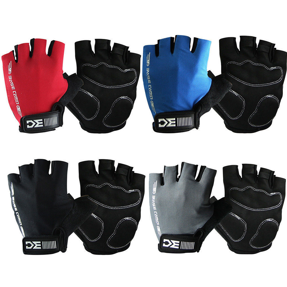 Outdoors Cycling Half Finger Gloves Motorcycle Mountaineering Sport Gloves