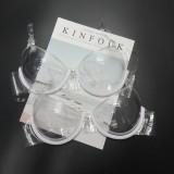 Women Invisible Transparent Plastic Sexy Bra Disposable Underwear Clear Bra Push Up Bra Underwear Lingerie