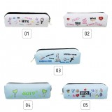 KPOP BTS GOT7 WANNAONE TWICE BT21 Pencil Case Fans Stationery Support Gift