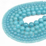 Natural Gemstone Loose Beads for DIY Jewelry Making 4mm 6mm 8mm 10mm 12mm Round Spacer Natural Gemstone Loose Beads