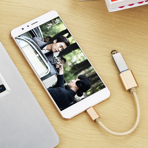 Micro USB to USB 2.0 OTG Data Host Cable Adapter for Android Samsung S5 S6