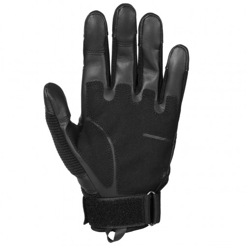 Motorcycle Touch Screen Rubber Hard Knuckle Leather Full Finger Gloves Motorbike