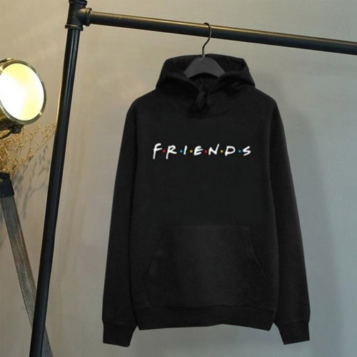 Fashion Friends Women Hoodies Casual Sweatshirt Coat Jacket Outwear Tops Pullover