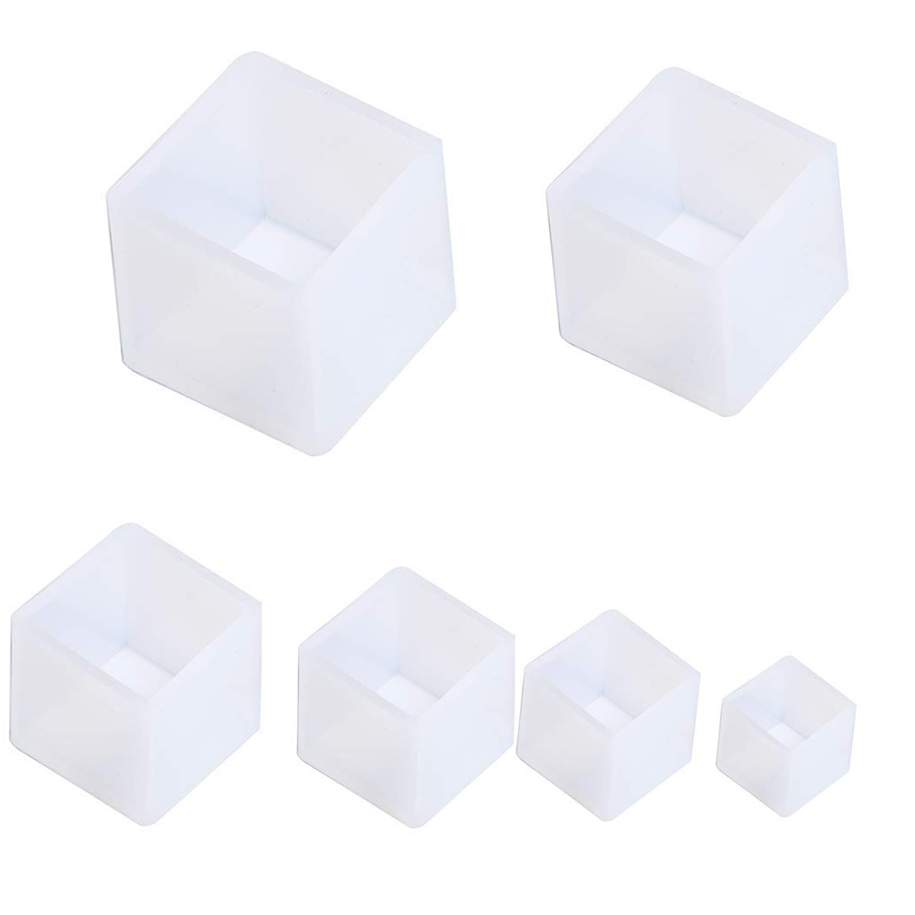 Resin Casting Molds Silicone Epoxy Resin Molds Including Sphere Cube  Pyramid Diamond for Polymer Clay, Crafting, Resin Epoxy, Jewelry Making