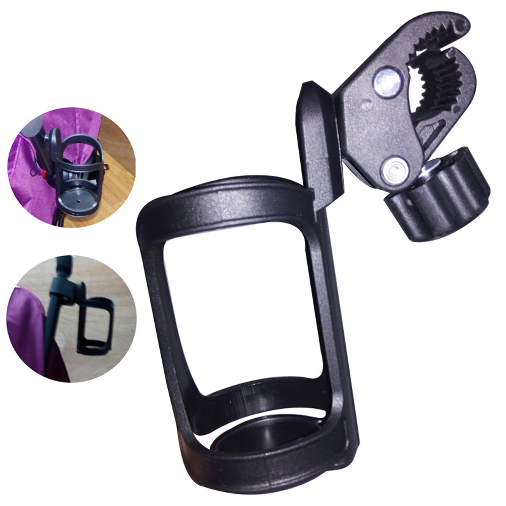 Bike Cup Bottle Holder Universal 360 Degrees Rotation Antislip Cup Drink Holder For Baby Stroller Pushchair Wheelchair Motorcycle Accessory