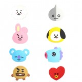 Kpop BTS Cartoon BT21 Pattern Mirror Bangtan Boys Makeup Birthday Xmas Gift Decor