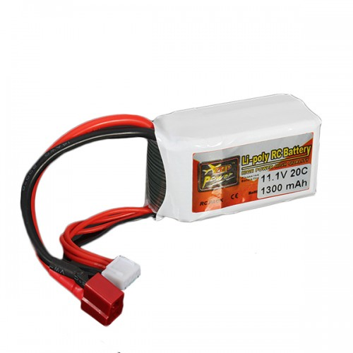 ZOP Power 3S 11.1V 1300MAH 20C Lipo Battery T Plug