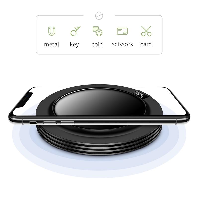 JOYROOM JR-A16 18W Intelligent Fast Wireless Charger, US Plug (White)