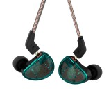 KZ AS10 Ten Unit Moving Iron In-ear Bluetooth HiFi Earphone without Microphone (Cyan)