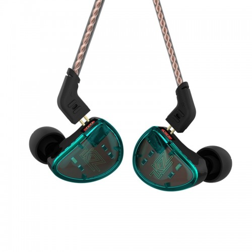 KZ AS10 Ten Unit Moving Iron In-ear Bluetooth HiFi Earphone without Microphone (Cyan)