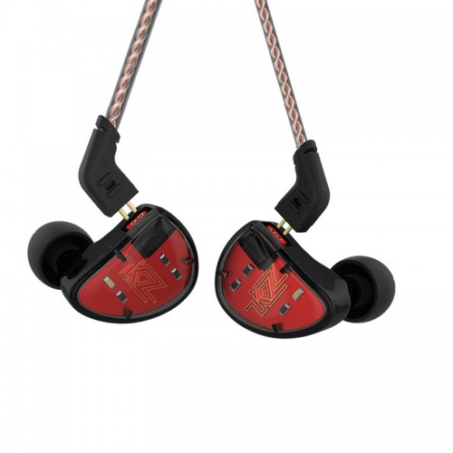 KZ AS10 Ten Unit Moving Iron In-ear Bluetooth HiFi Earphone without Microphone (Red)