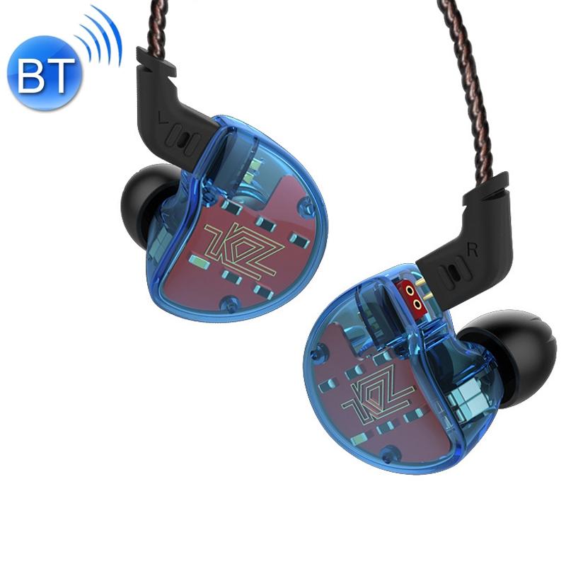 KZ ZS10 Ten Unit Circle Iron In-ear Mega Bass HiFi Earphone without Microphone (Blue)