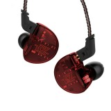 KZ ZS10 Ten Unit Circle Iron In-ear Mega Bass HiFi Earphone without Microphone (Red)