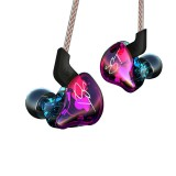 KZ ZST Circle Iron In-ear Mega Bass MP3 Dual Unit Earphone without Microphone (Colour)