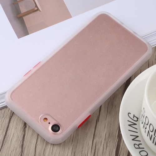 TOTUDESIGN Gingle Series II Shockproof TPU+PC Case for iPhone 8 & 7 (White)