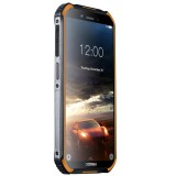 DOOGEE S40 Rugged Phone, 2GB+16GB, IP68/IP69K Waterproof Dustproof Shockproof, MIL-STD-810G, 4650mAh Battery, Dual Back Cameras, Face & Fingerprint Identification, 5.5 inch Android 9.0 Pie MTK6739 Quad Core up to 1.5GHz, Network: 4G, NFC (Orange)