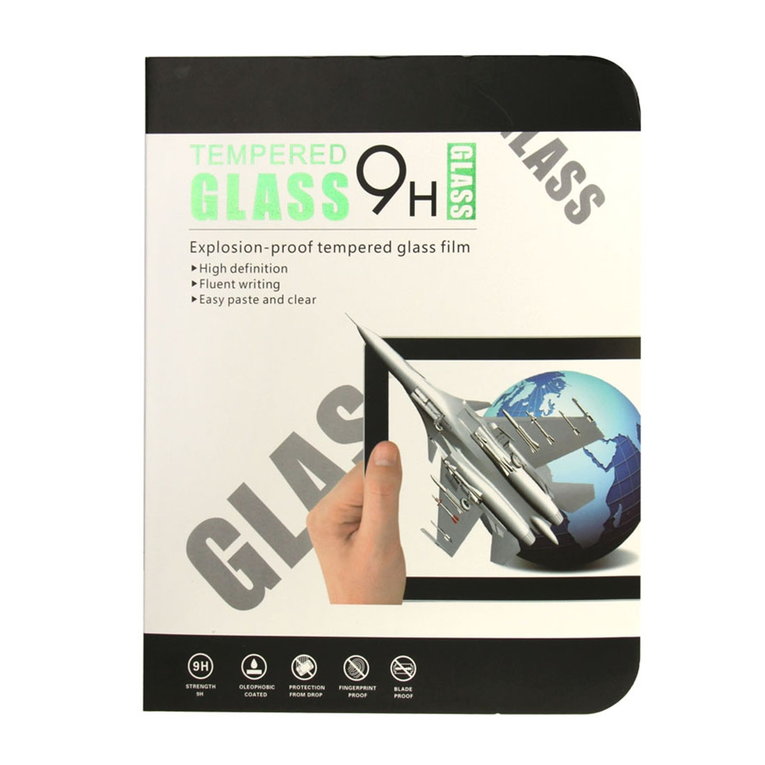 0.4mm 9H Surface Hardness Explosion-proof Tempered Glass Film for iPad Air 2019