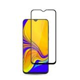 mocolo 0.33mm 9H 2.5D Full Glue Silk Print Tempered Glass Film for Galaxy A30 / A50 / M30, Support Fingerprint Unlock (Black)