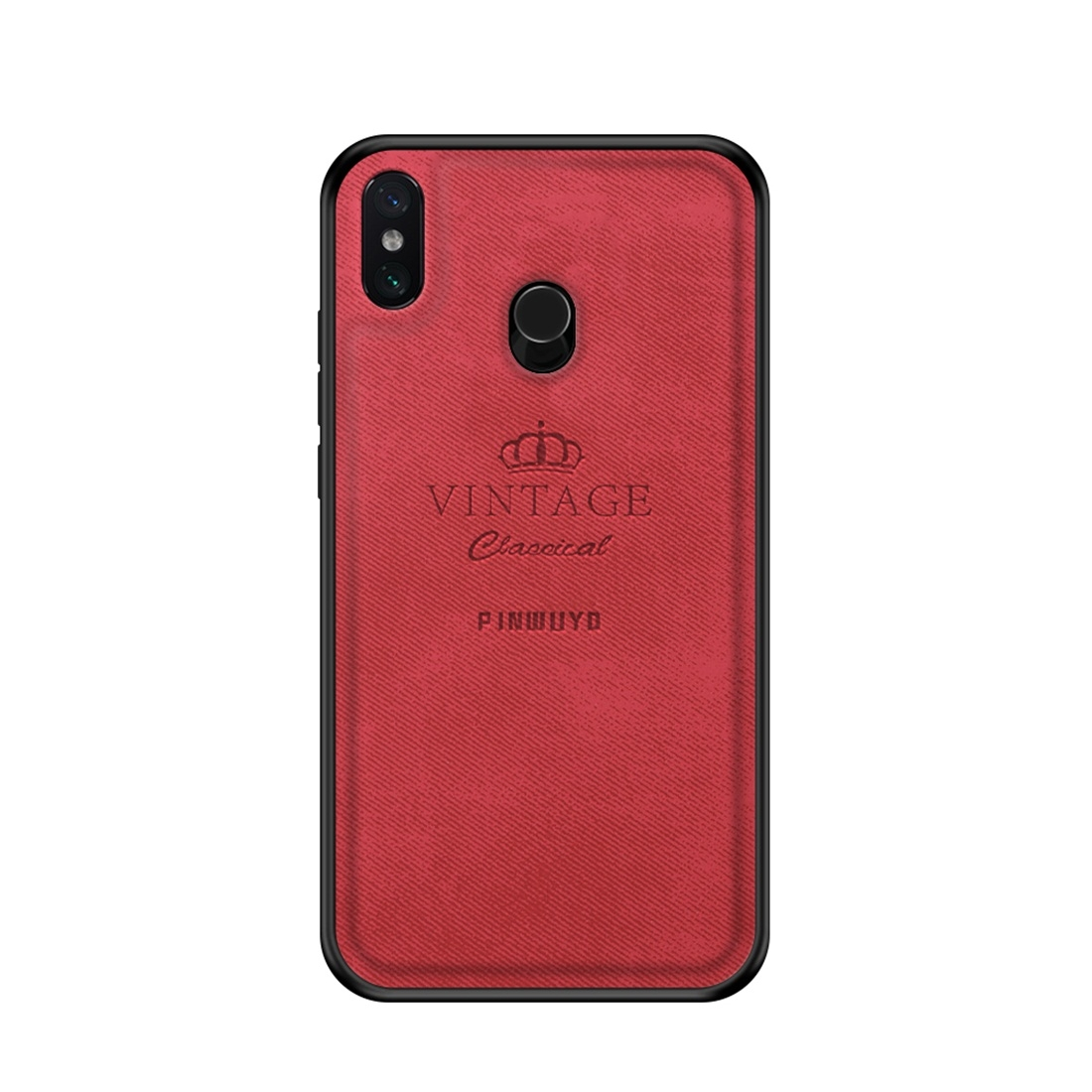 new style 5236c a1e27 PINWUYO Shockproof Waterproof Full Coverage PC + TPU + Skin Protective Case  for Xiaomi Mi Max 3 (Red)