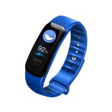 C1S 0.96 inches IPS Color Screen Smart Bracelet IP67 Waterproof, Support Call Reminder / Heart Rate Monitoring / Blood Pressure Monitoring / Sleep Monitoring / Sedentary Reminder / Remote Control (Blue)