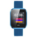 CD16 1.3 inch TFT Color Screen Smart Bracelet IP67 Waterproof, Support Call Reminder / Heart Rate Monitoring / Sleep Monitoring / Multi-sport Mode (Blue)
