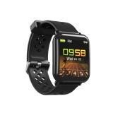 DM06 1.3 inch IPS Color Screen Smart Bracelet IP68 Waterproof, Support Call Reminder / Heart Rate Monitoring / Sleep Monitoring / Sedentary Reminder (Black)