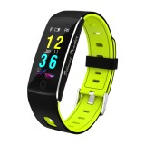 F10 0.96 inch TFT Color Screen Smart Bracelet IP67 Waterproof, Support Call Reminder / Heart Rate Monitoring / Blood Pressure Monitoring / Sleep Monitoring / Blood Oxygen Monitoring (Green)