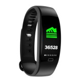 F64HR 0.96 inch TFT Color Screen Smart Bracelet IP68 Waterproof, Support Call Reminder / Heart Rate Monitoring / Blood Pressure Monitoring / Sleep Monitoring / Blood Oxygen Monitoring (Black)