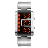 SKMEI 1179 Multifunctional Men Outdoor Sports Noctilucent Waterproof LED Digital Watch (Silver)