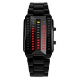 SKMEI 1013 Multifunctional Female Outdoor Fashion Noctilucent Waterproof LED Digital Watch (Black)