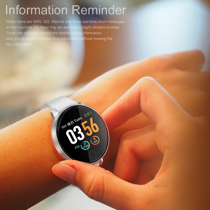 ZGPAX S226D 1.3 inch IP67 Waterproof Smartwatch Bluetooth 4.0, Support Incoming Call Reminder / Blood Pressure Monitoring / Sleep Monitor / Pedometer (Black)