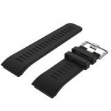 Silicone Sport Wrist Strap for Garmin Vivoactive HR (Black)