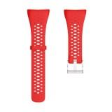 Silicone Sport Wrist Strap for POLAR M400 / M430 (Red)
